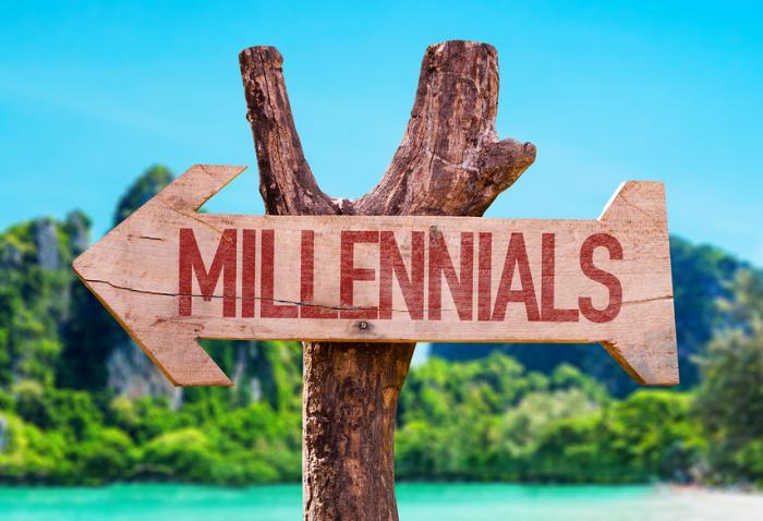 bigstock Millennials arrow with beach b 107694023
