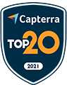 Capterra Top 20 for File Sharing May-20